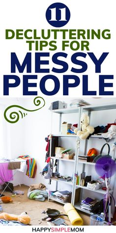 Decluttering tips for messy people so you can achieve a clutter free home and finally start getting organized. Tips For Home Decluttering Tips for Messy People Organisation Hacks, Clutter Organization, Home Organization Tips, Small Bedroom Organization, Household Organization, Paper Organization, Kitchen Organization, Declutter Home, Declutter Your Life