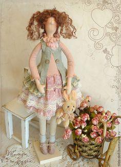 Купить Кукла Тильда: Ника - тильда, кукла Тильда, куклы тильды, текстильная кукла