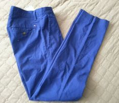 #ebay  men 2018 fashion Tommy Hilfiger Men's Size 30W 30L blue chinos cotton pants 30x30 Tommyhilfiger withing our EBAY store at  http://stores.ebay.com/esquirestore