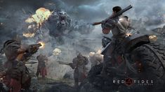 Art of War: Red Tides APK Download is a game released in 2016 on Steam (PC). The game quickly resonates in the gaming community and attracts a small number of fans. The game attracts players by combining MOBA with real-time. The game offers extremely fierce battles with over 200 combat units. The game also requires players to have a good tactical ability. As announced by the manufacturer, the game will launch a mobile version for gamers to experience the game anywhere and anytime.