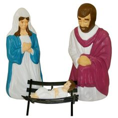 COMPLETE NATIVITY SCENE IMAGE DEPICTS WHAT YOUR DISPLAY CAN LOOK LIKE.  NOT SOLD AS COMPLETE SET.