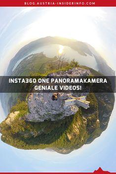 Schon vor einiger Zeit habe ich diese wirklich coolen Aufnahmen, die man mit diesen 360 Grad Panoramakameras machen kann, bewundert. So eine Kamera zu kaufen kam mir aber lange nicht in den Sinn. Dann wurde ich aber erneut angefixt und habe mir die Insta360 One noch während eines Barcamps am Berg bestellt. Und das ist auch gut so. Warum? Einfach lesen und begeistern lassen! 360 Grad, Berg, Portrait, Austria, Videos, Movie Posters, Travel, Pictures, Creative Photography