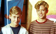 ♬  LOOKING BACK: Ryan Gosling and Justin Timberlake as they looked when they appeared on the Mickey Mouse Club in the 1990s! ♬