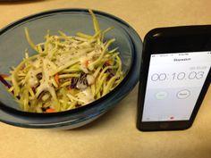 10 second salad