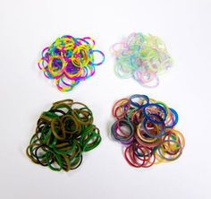 Rainbow Loom exclusive multi-color rubber band packs at Michaels, metallic, gold, camo, tie-dye, glitter- keeping kids busy!