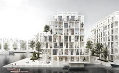 Gallery of Tredje Natur, AART Architects and Arup Team Up for Copenhagen Island…