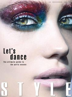 Sunday Times Style - December - Michael Baumgarten - 2015 www.lisaeldridge.com #LisaEldridge #makeup #beauty #SundayTimesStyle #MichaerlBaumgarten