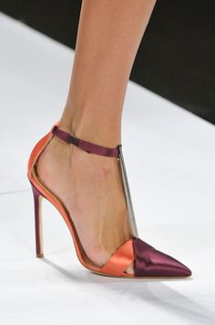 From Simple to Outrageous, NYFW's Runway Shoes Are Here: Carolina Herrera Spring 2014