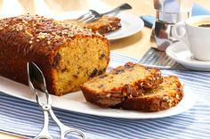 Nougat-Grieß-Kuchen - Ohne viel Aufwand gezaubert: http://www.ichliebebacken.de/rezeptebox/kuchen/nougat-griess-kuchen
