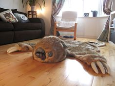 Large Luxury Monster rug, Total one-off peice
