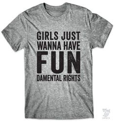 Girls just wanna have fundamental rights!