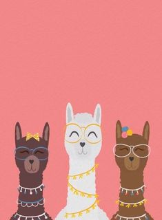 Coole Mama Lamas Animated Evite Einladung – Well come To My Web Site come Here Brom Trendy Wallpaper, Cute Wallpaper Backgrounds, Cute Wallpapers, Iphone Wallpaper, Cartoon Wallpaper, Disney Wallpaper, Cute Llama, Baby Llama, Llama Alpaca