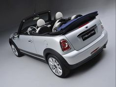 The two millionth MINI ever produced was a White Silver Metallic MINI Convertible with Denim Blue top.