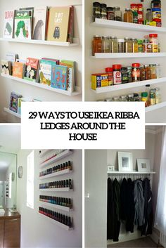 29 ways to use ikea ribba ldges around the house cover