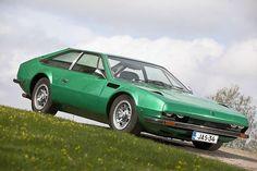 A great and rarely seen car, a Lamborghini Jarama 400 GT - Innocenti Mini Bertone Inspiration - LGMSports.com