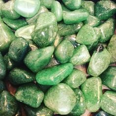 Green aventurine is known for the good fortune and healing it brings to those who use or wear it. Aligned with the heart chakra, this stone of prosperity and well being is like a crystal four-leaf clo