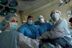 Clinical students in Pennsylvania take part of an operation as part of their clinical experience