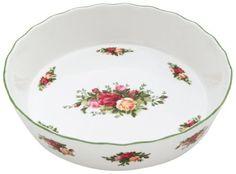 Royal Doulton Royal Albert Old Country Roses Pie Plate by Royal Albert, http://www.amazon.com/dp/B002SY2IPQ/ref=cm_sw_r_pi_dp_FC6jrb035J75A
