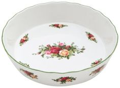 Royal Doulton Royal Albert Old Country Roses Pie Plate by Royal Albert, http://www.amazon.com/dp/B002SY2IPQ/ref=cm_sw_r_pi_dp_FC6jrb035J75A
