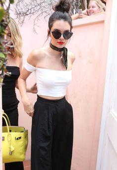Así se lleva la bandana, lección de estilo de Kendall Jenner