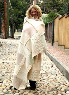 Felted Wool Blankets