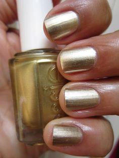 Essie Good as Gold.