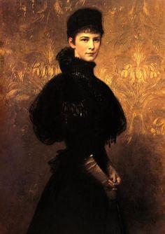 Im Original Ein Gemälde, Das Franz Joseph Wenige Monate Nach Ihrem Tod