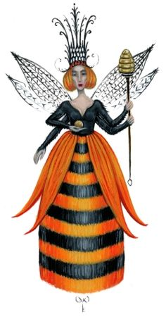 Queen Bee the second ... Diane Kremmer - Impsects series