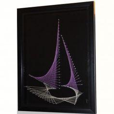 Yacht - Nail and String Art