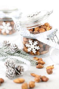 Christmas Jars, Christmas Snacks, Scandinavian Christmas, Christmas Baking, Easy Handmade Gifts, Diy Gifts, Food Gifts, Yule, Special Gifts