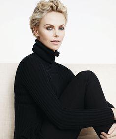Charlize Theron photographed by Karim Sadli for 2014 Dior campaign, September 2014.