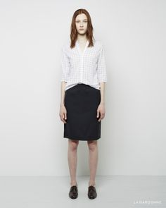 Stephan Schneider / Tanner Blouse Stephan Schneider / Manual Skirt  Jil Sander / Oxford