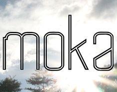 Echa un vistazo a este proyecto @Behance: \u201cMoka | Typeface\u201d https://www.behance.net/gallery/16716165/Moka-Typeface