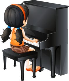 Cartoon Piano Children Play The Piano PNG Transparency Kids Cartoon Characters, Cartoon Pics, Painting For Kids, Art For Kids, Music Lessons For Kids, Clip Art, Music School, Cute Clipart, Music Images