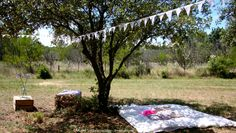 Rustic Wedding in a [real] field in Provence - SouthernFrance - Lounge area... Take a nap under the olive tree, between cushions and lace garlands - Details are magic...  #realwedding #field #rusticwedding #weddingplanner #lesriresdejulie #murielsaldalamacchia  photo: me, myself and I ;)