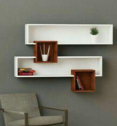 floating shelves with lights Decor, Wall Shelf Decor, Shelves, Diy Furniture, Wall Shelves Design, Furniture Decor, Creative Furniture, Furniture Design, Home Decor Furniture