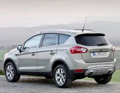 Cool Ford: Ford Kuga. In black - of course....  cars