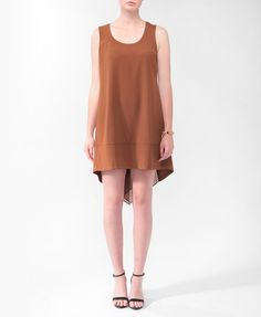 High-Low Shift Dress | FOREVER21 - 2000046300