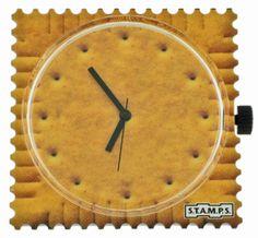 Montre Stamps. Bijoux créateurs. En vente en boutique et sur notre site internet : http://www.bijouterie-influences.com/search.php?search_query=montre+stamps