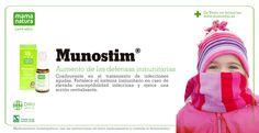 Munostim de Mama Natura para el aumento de las defensas inmunitarias. www.munostim.es