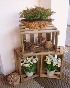 Frühling Ostern Hauseingang Deko Gård Easter Decor Und Diy