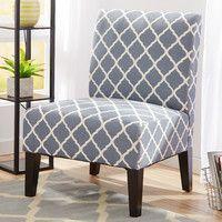 Quatrefoil Side Chair