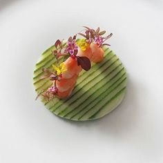 - Green Zucchini & Prawn -