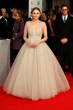 Pin for Later: See All The Fashion at the 2015 BAFTA Awards Laura Haddock Laura looked like the perfect princess in this pastel gown.