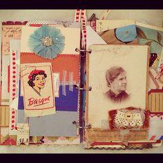 Fabulous Art Journal // french general // pam garrison