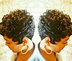 9- Short Hairstyles for Black Women