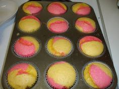Strawberry lemonade cupcakes. This would be awesome as a cake for a Strawberry Shortcake themed party.