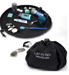 Lay-n-go is the perfect solution for traveling, storing make-up or even toys like legos- this multi-purpose pouch is a great organizing solution.