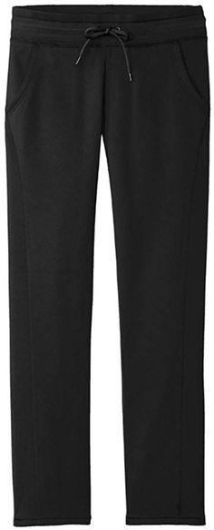 802e7f1d38 Ladies Moisture Wicking Athletic Sweatpants with Pockets - Black -  C212MU7WR6H