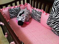 Pinterest pink zebra for baby shower | Home Blog Gallery Nursery Themes Contest Bedding Advertise